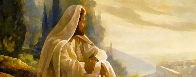 Jesús en soledad y silencio