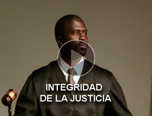 Integridad de la justicia