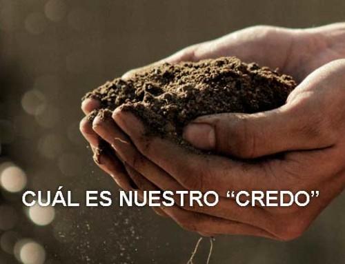 """Cuál es nuestro """"credo"""""""