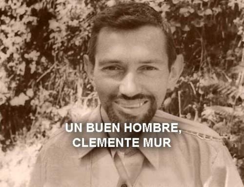 Un buen hombre, Clemente Mur