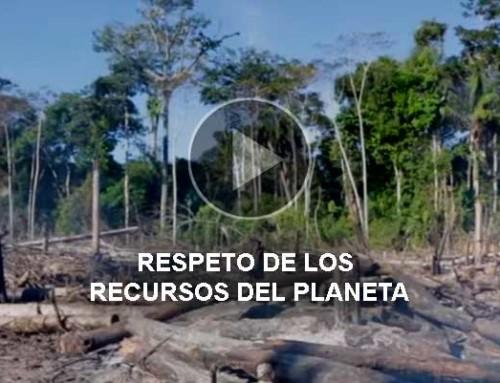 Respeto de los recursos del planeta