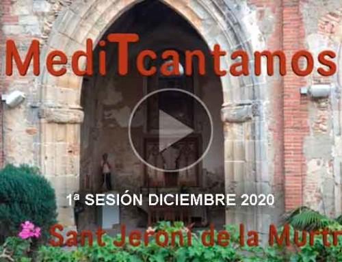1ª sesión MediTcantamos – 03 de diciembre 2020